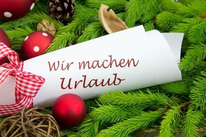 wir sind auf weihnachtsurlaub bis alltek austria. Black Bedroom Furniture Sets. Home Design Ideas
