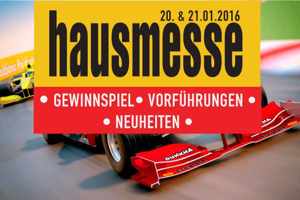 Hausmesse 2016 – Mit Vollgas ins Jahr 2016