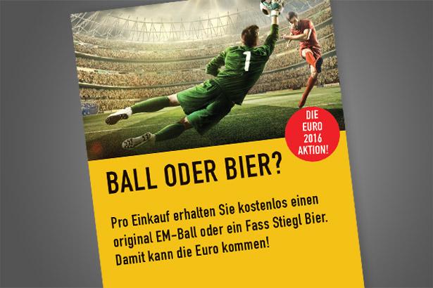 EURO 2016 AKTION – BALL ODER BIER?